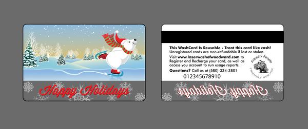 gift card polar bear