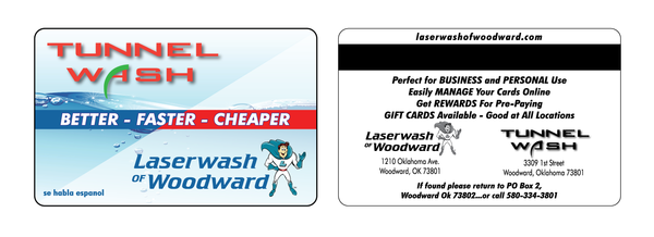 washcard laserwash